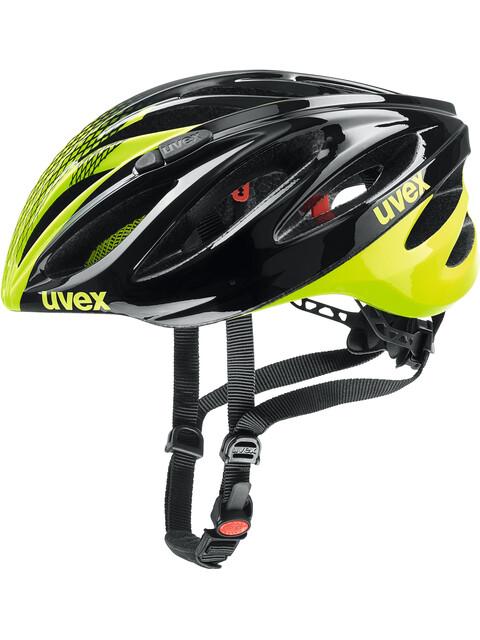 UVEX Boss Race - Casque de vélo - jaune/noir